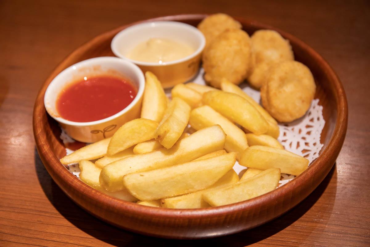 ハンバーグレストラン「びっくりドンキー」ポテト&ナゲット